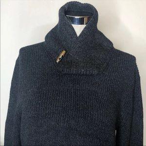 TRUE ROCK Sweaters - Men's Grey Knitted Sweater
